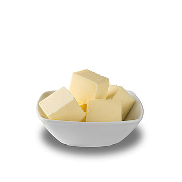Product benefits of bakery butter with vanillin or carotene