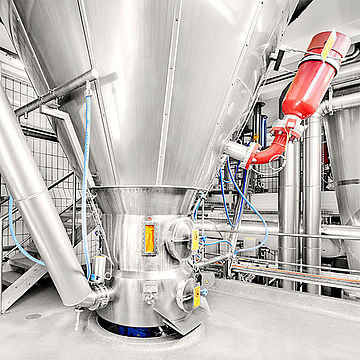Spray drying as contract manufacturing