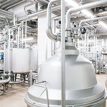 Contract manufacturing of anhydrous milk fat