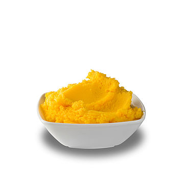 Product benefits of butterfat with vanillin or carotene