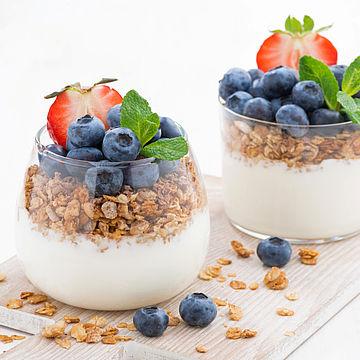 Use of Greek-style yoghurt