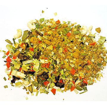 Use of spray dried soy sauce powder